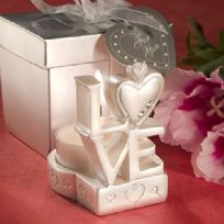 Love Design Candle Favour